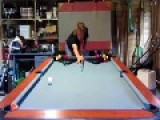 15 Year Old Pool Trickshot Prodigy