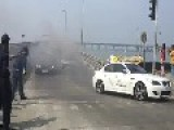 Audi R8 Catches Fire In Mumbai Parx Supercar Show