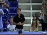 Man Intercepts Girl's Baseball Catch