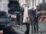 2 Injured Policemen Hit By 7 Shots In Front Of The Italian Government | ITALY