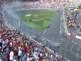 2013 NASCAR Crash - Fans Injured, Reports Of 1 Dead
