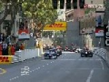 2012 GP2 Series At Monaco Sprint Race Big Start Pile Up