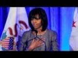 Michelle Obama Enters Gun Control Debate