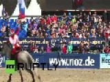 Germany: Equestrians Get Acrobatic, Seeing Is Believing