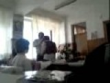 Math Teacher Beating 13 Year-old Student