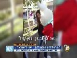 Disney White Rabbit Attacks Girl
