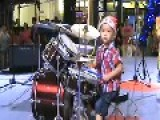 3 Years Old Drummer Howard Wong