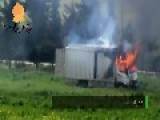 Syria - Ammo Truck Cooking Off