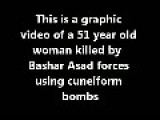 51 Years Old Woman Killed By Bashar Forces