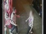 CCTV Footage Released Of Pizza Shop Jaw Breaking Punch Birmingham UK