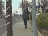 Real Life Zombie Man Walking In Ca
