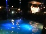 Amazing Moto BackFlip With Water In A Pool
