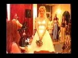 Bride Throws The Bouquet