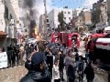 Gas Cylinders Explode In Amman,Jordan