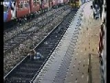 CCTV Footage Near Misses Caught On Film As Rail Campaign Launched 2012