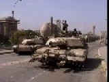 Iraq 2003 - Baghdad, Dead Iraqis Used As Barricade 10-04