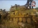 Syria - FSA With Seized ZSU-23 And T62 Pt2
