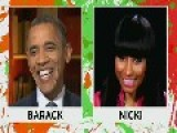 If They Melded: Hussein Obama + Nicki Minaj
