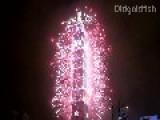 Taipei 101 - 2013 New Years Firework