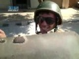 Bashar Gang Members Occupy Civilian Streets With Metal Armoured Cars