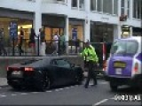 Police Impound Arab Aventador In London