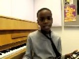 11 Year Old Sings Charlie Parker's Solo On 'Parker's Mood'