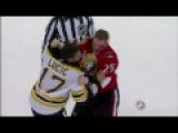 Milan Lucic Fights Chris Neil Blood Fight GRAPHIC A+++