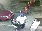 Asian Guy Knocks Out Black Guy