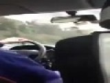 A Taxi Driver In Rome Takes The Wrong Street And Goes Crazy