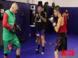 Albanian Boxing Prodigy, 13 Years Old