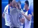 Arm Wrestling Isn't Always A Gentleman's Sport