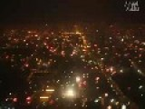 Airview At Beijing On Chinese New Year's Eve:massive Firework