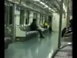 Asian Guy Kicks The Sh!t Out Of A Woman On The Train