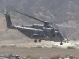 Air Assault By CH-53E Super Stallion And MV-22 Osprey