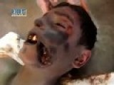 A Boy Lays Dead After Falling Victim To Assad's Alawite Torturers: Homs