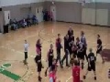 Awesome Basketball Buzzer Beater! When A Big Boy Becomes A Hero