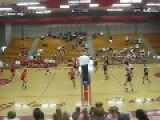 Amazing Volleyball Save!