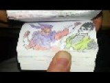 Awesome Animation Dragon Ball Z In A Notebook