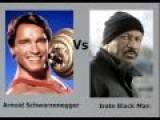 Arnold Schwarzenegger Calls An IRATE Black Man