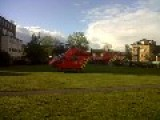 Air Ambulance Trauma Team Helicopter Takeoff