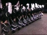 Amazing Drum Show At Edinburgh Military Tattoo