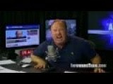 Alex Jones Is So Angry He Can't Even Talk