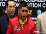Amir Khan Post Fight Interview