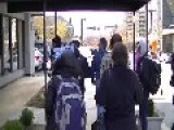 Black Friday Fur Free Friday Protest At Millers Furs In Bethesda, MD