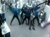 Brutal Fight In Russian Supermarket