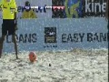Beach Soccer::Lebanon Vs Portugal And An Unbelievable Goal From The Lebanese Player