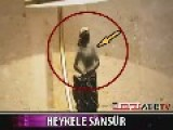 Breasts Of Statue On TV Censored In Turkey!