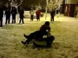 Black Bully Has Leg Broken By Little Asian Dude