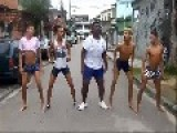 Brazilian Dancers Practicing For The World Cup And Olympics Opening
