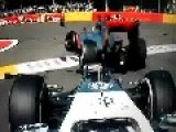 Belgian GP 2012 Start Crash Alonso Hamilton And Grosjean Accident